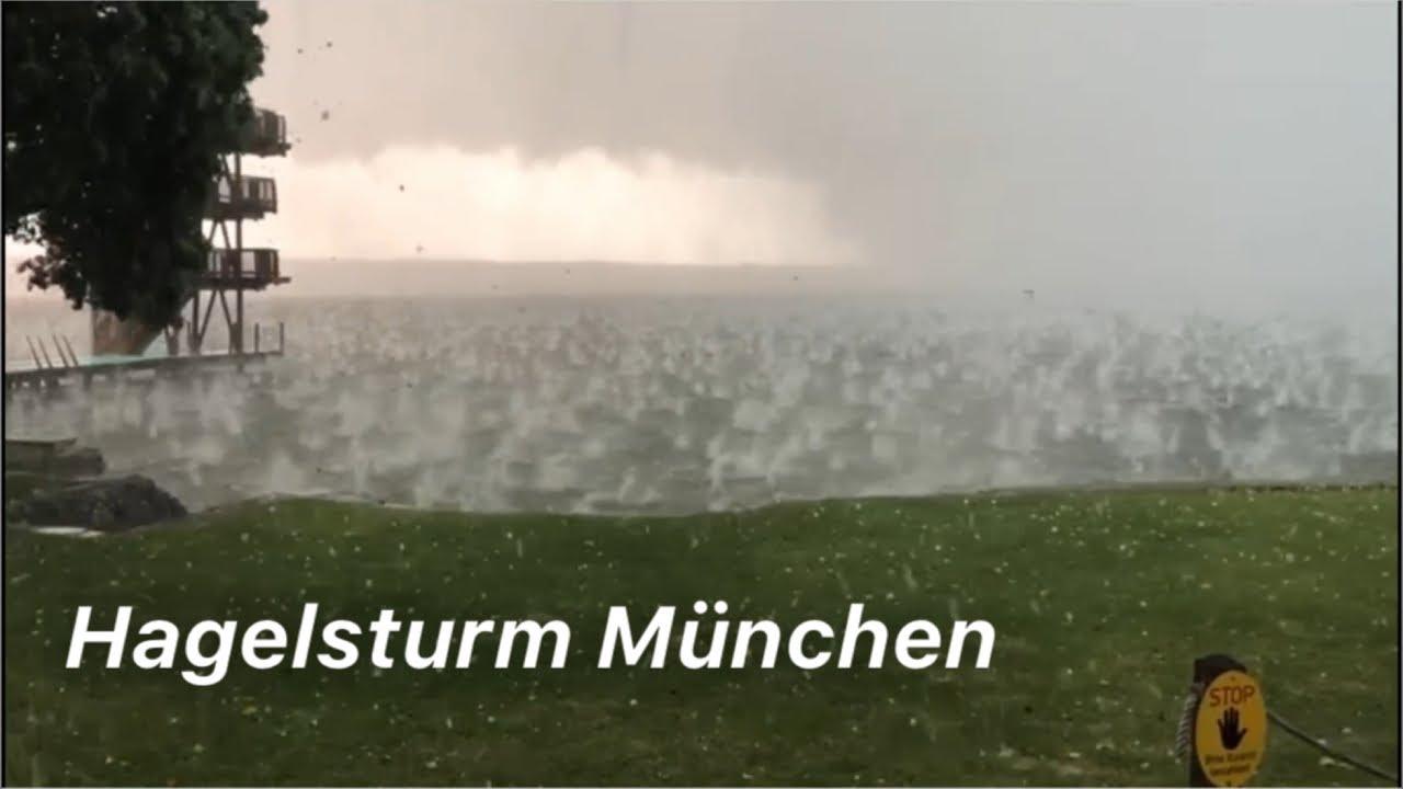 Hagel In München