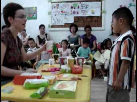 Karolina - teaching English lovely kids in Ningbo, China