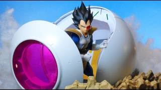 Bandai Dragon Ball Z Figure-rise Mechanics Saiyan Space Pod Review