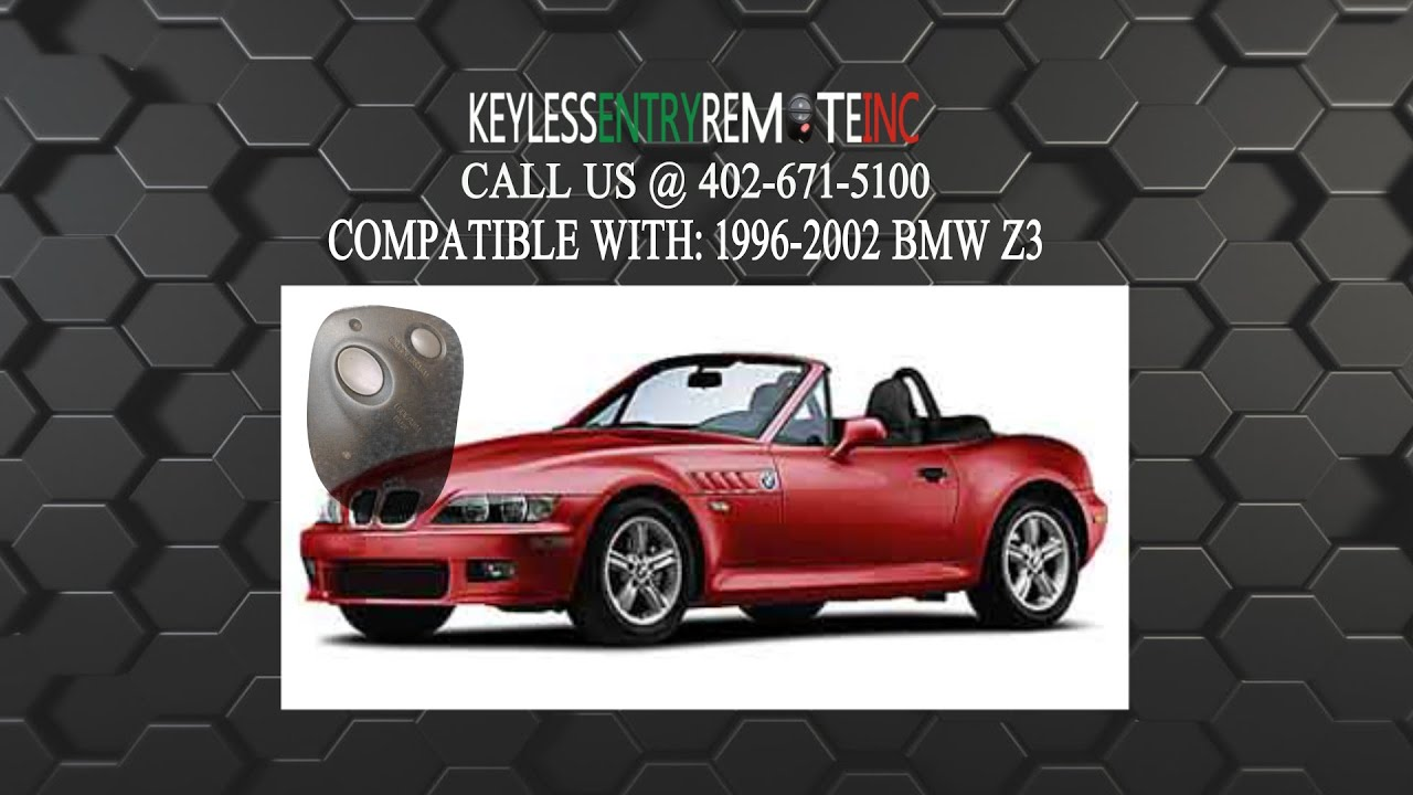 How To Replace Bmw Z3 Key Fob Battery 1996 1997 1998 1999