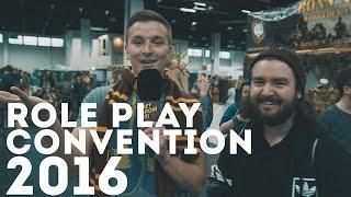 Sturmwaffel und dicke Orks auf der Roleplay Convention