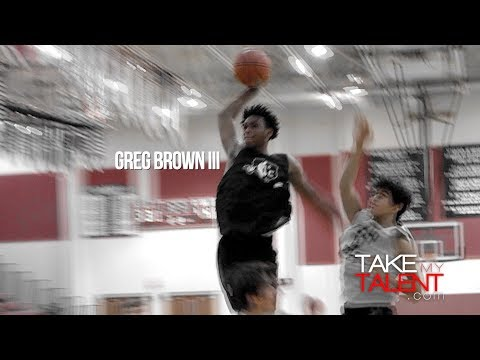 Greg Brown III - Leander ISD Fall League