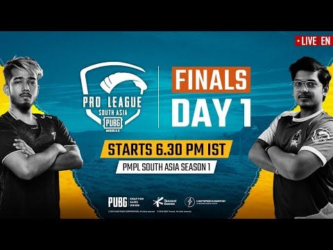 [EN] PMPL South Asia Finals Day 1 | PUBG MOBILE Pro League S1