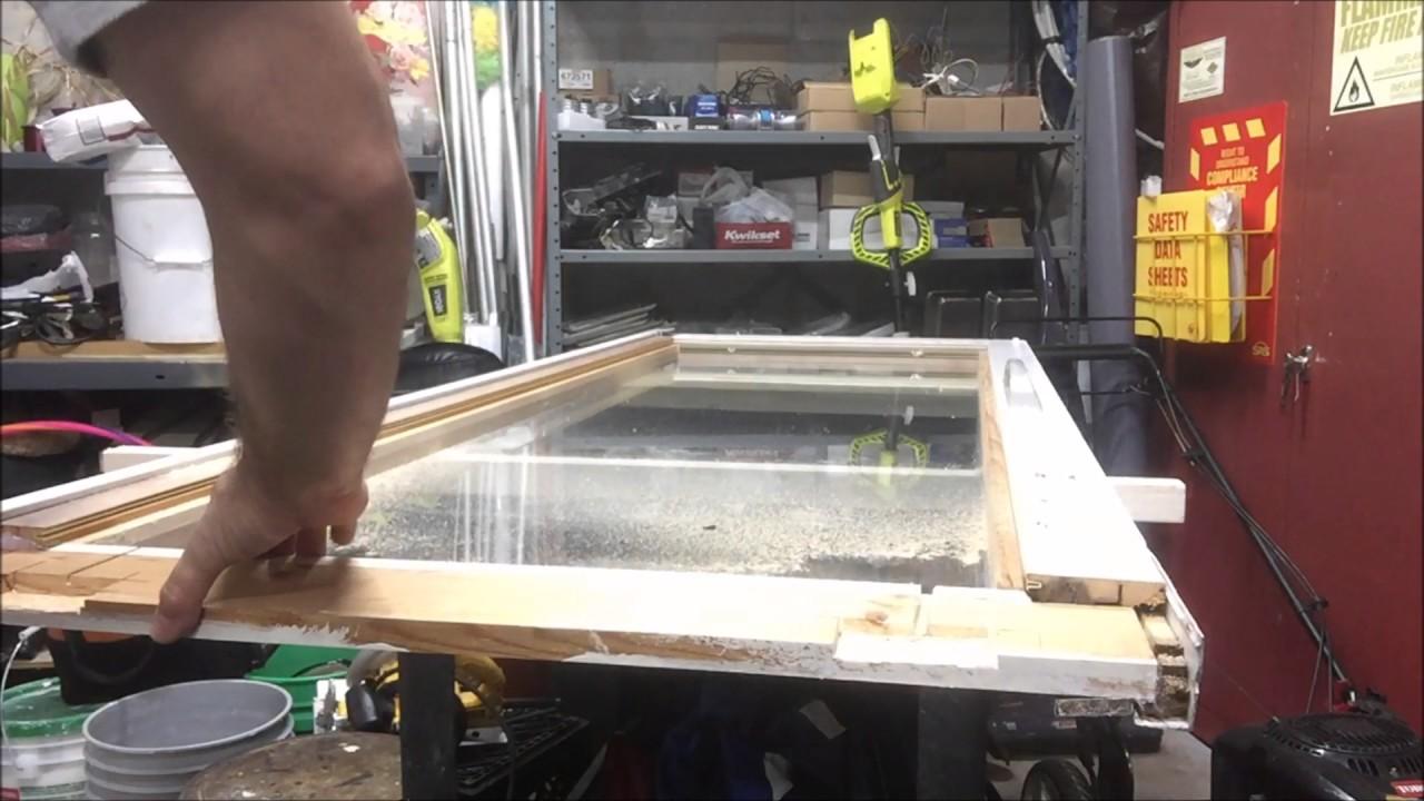 Como reparar puerta corrediza de madera youtube - Como arreglar puertas de madera rayadas ...