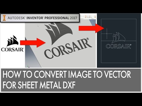Convert Image For Sheet Metal Etching/DXF Export