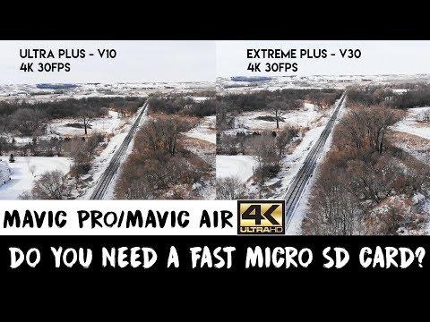 Mavic Pro and Mavic Air | Best Micro SD Card | How To Choose