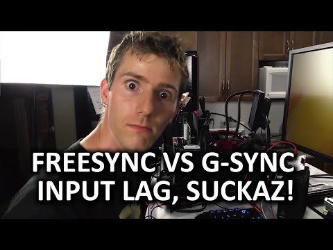 FreeSync vs G-Sync Input Lag Comparison