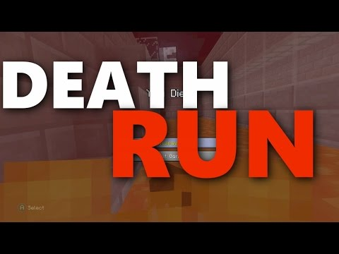 Minecraft Xbox - THE HARDEST DEATH RUN EVER !!