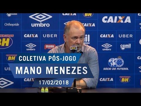 17/02/18 - Coletiva: Mano Menezes