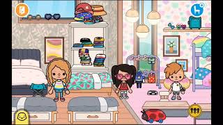 Toca boca. Ева и её семья.    3 сезон 7 серия   ~♡Тока бока особняк и ресторан♡~