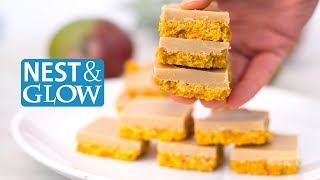 FAST Tropical Smoothie Healthy Fudge Recipe - Vegan and Refined Sugar-free