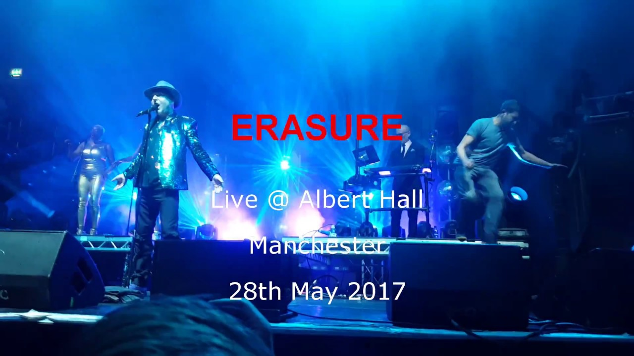 Erasure Tour  Playlist