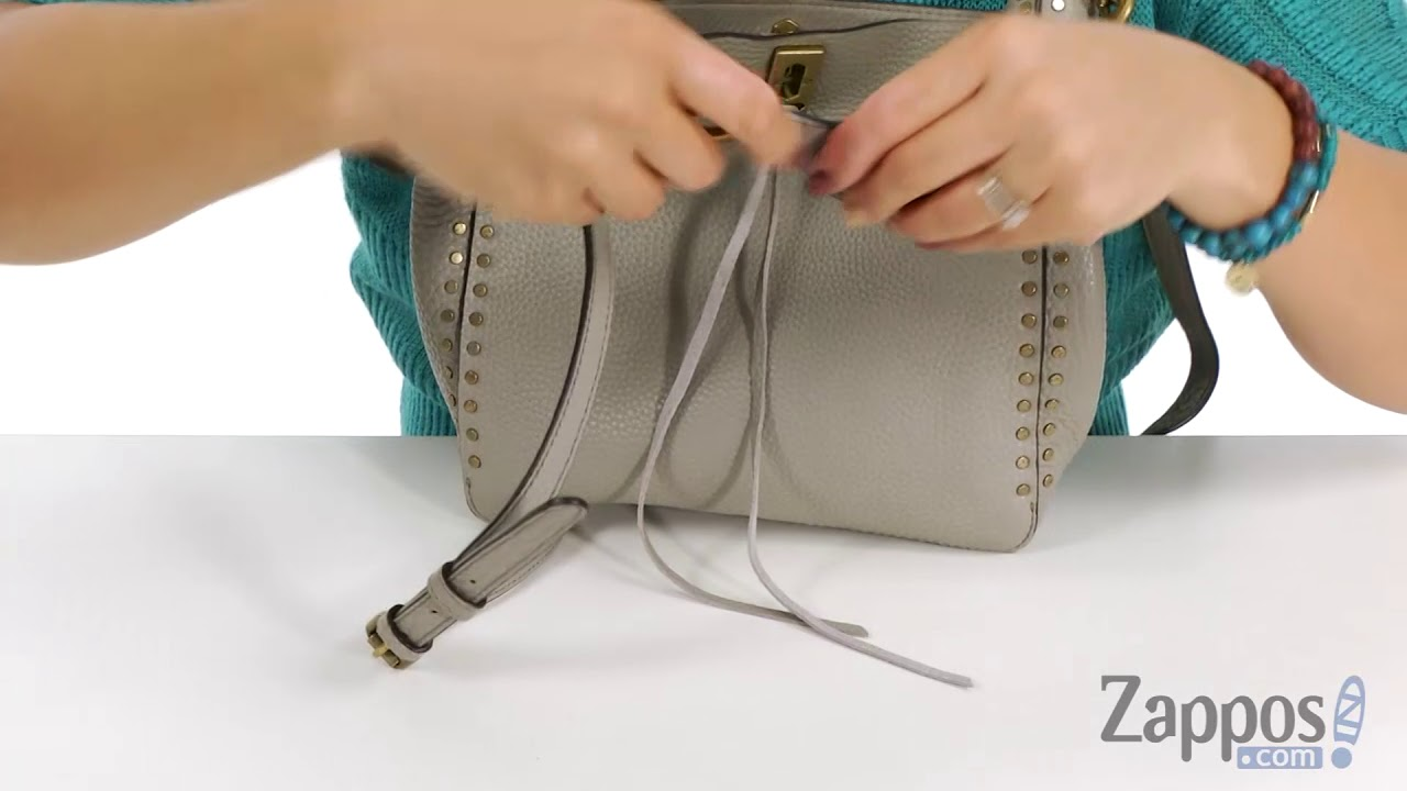 63d275eaf4 Rebecca Minkoff Darren Small Feed Bag SKU  9000278 - YouTube