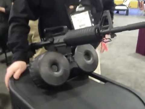 Shot Show 2013, 150 rounds Mag for M16 & AR15 by Superior Arms their  amazing Double Drums