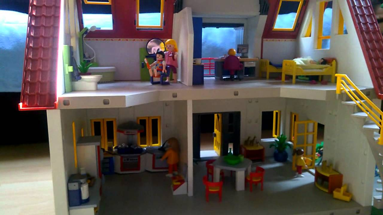 Playmobil House Full Set 4279 Toy Domek Maison - YouTube