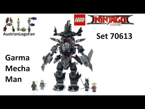 Thumbnail: Lego Ninjago Movie 70613 Garma Mecha Man - Lego Speed Build Review