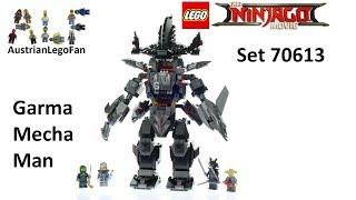 Lego Ninjago Movie 70613 Garma Mecha Man - Lego Speed Build Review