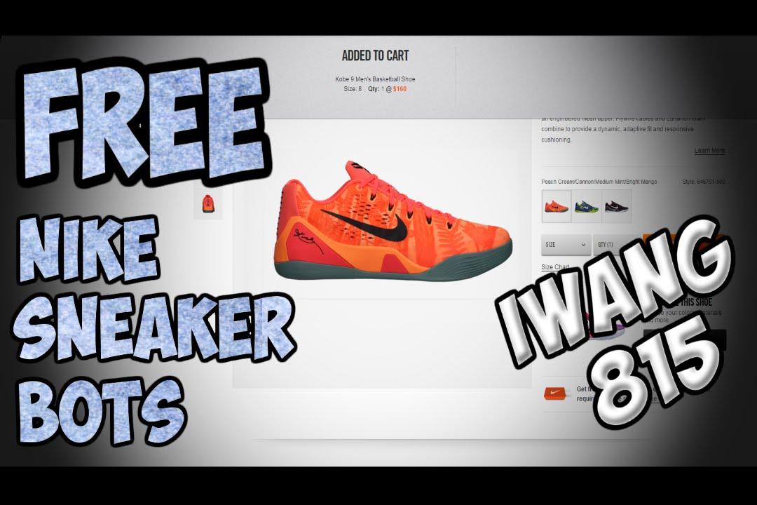 free sneaker bot