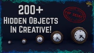 *NEW* 200+ Hidden Objects Museum w/ CODE! For Fortnite Creative Builders!