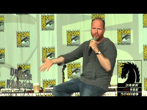 Joss Whedon at San Diego Comic-Con 2013