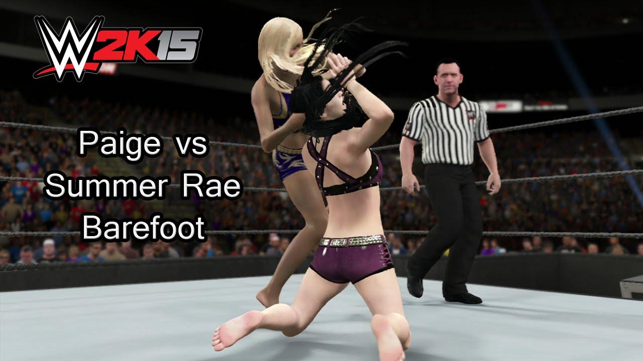 Feet WWE diva Paige nude photos 2019