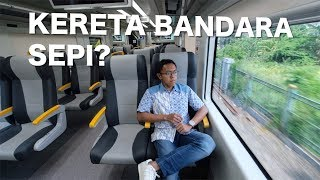 MENCOBA KERETA BANDARA JAKARTA | RAILINK SOEKARNO HATTA - SUDIRMAN BNI CITY