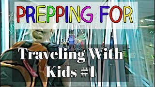 Traveling With Kids #1: PACKING // BOOKING // DISCIPLINE Video