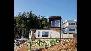 담양연동에 건축한 모듈러주택 30평형(경량목조주택)_(…