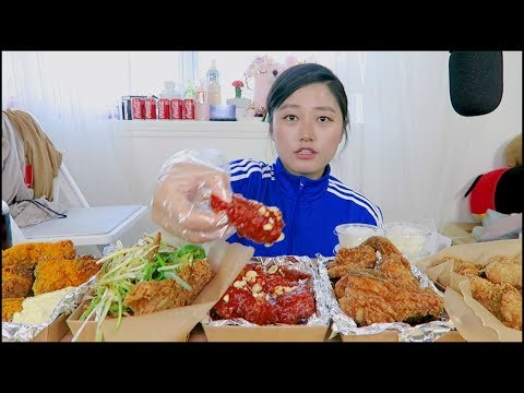 How to enjoy Korean Fried Chicken pt 2 !
