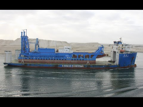 What's Going on in the Suez? MAERSK SOUNDS THE ALARM & A NEW DREDGE ARRIVES!  April 12, 202