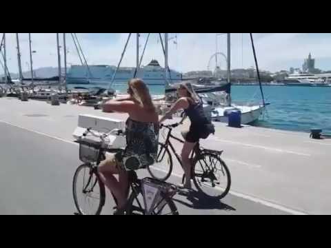 Beautiful port of Málaga!
