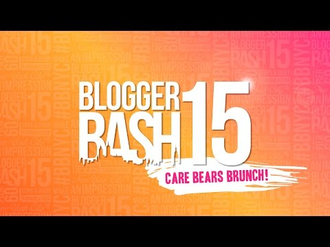 Care Bears Share Your Care Brunch BBNYC 2015!