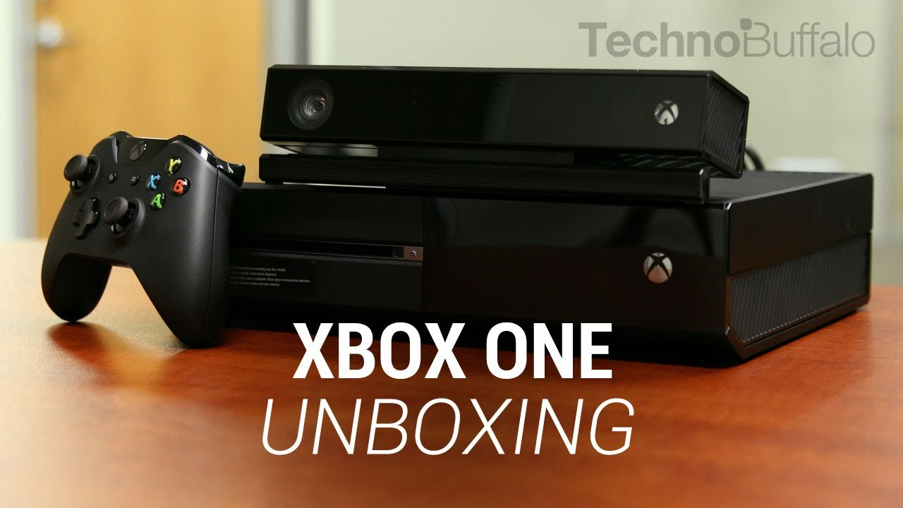 Xbox One Unboxing Xbox One Unboxing