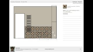 Create a custom PDF with the project details for your customers with Tilelook