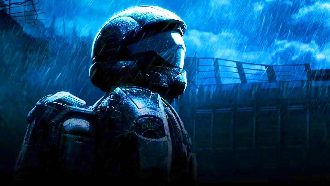 Thunder and rain with odst sad piano 8 hours sleep and relaxation youtube - Halo odst images ...