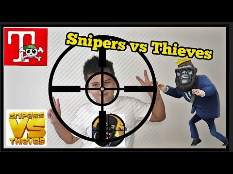 Snipers vs Thieves #1 - Gameplay💰 Παιχνίδια στο famous games/ ελληνικά για παιδιά famous toli