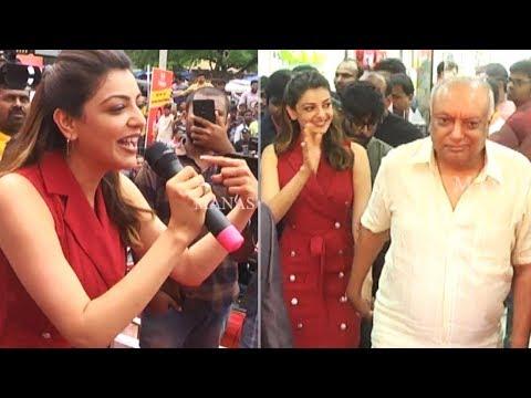 Actress Kajal Aggarwal Launches HAPPI Mobiles Store In Hanamkonda | Manastars