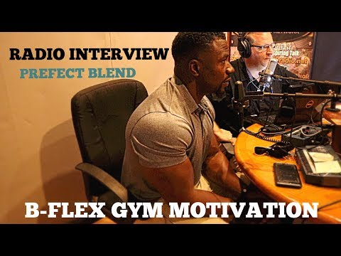 MY FIRST RADIO INTERVIEW, VLOG, B FLEX GYM MOTIVATION, St. Petersburg, FL