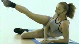 Упражнения для ягодиц и бедер фитнес с Валери_Турпин.flv