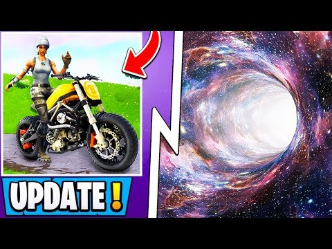 *NEW* Fortnite Update! | S10 Motorcycle Vehicle, Time Travel Leaks, Rarest Skin Ever!