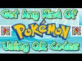 - How To Get Any Pokemon with QR Codes ORAS & XY