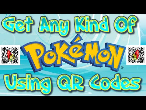 How To Get Any Pokemon with QR Codes (ORAS & XY)
