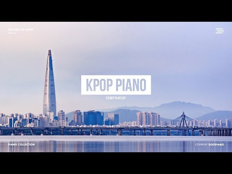 The Best Of KPOP Vol.3 | 1 Hour Piano Collection For Study