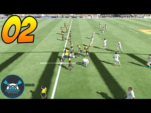 "PROMOTION TIME! (Rugby 18 ""Career Mode"" Gameplay Walkthrough Part 2 