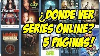 5 Paginas Para Ver Series Y Películas Online