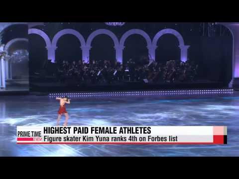 Kim Yuna named fourth highest paid female athlete