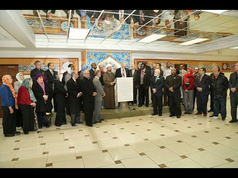 12/17/15: Press Conference- Interfaith Leaders Call for Unity & Solidarity With Muslims