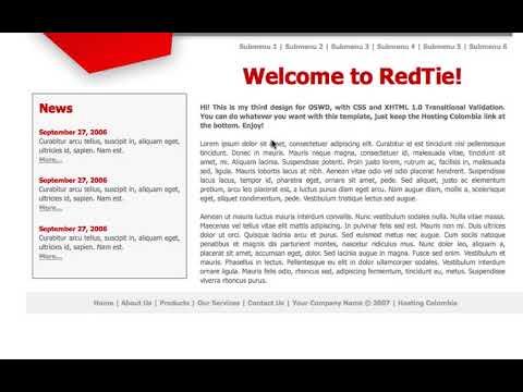 Joomla 1.5 Template Design, Lesson #27: The Menus