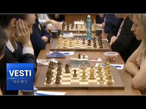 Russian Women's Team Took Home Gold in Chess World Championships For the First Time