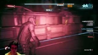 Batman Arkham Knight (AR Challenge Predator Mode)  Gameplay #27 financial crash